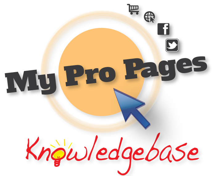 MyProPages Knowledgebase